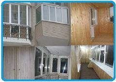 Заказать балкон под ключ, сделать балкон под ключ, комплексн.