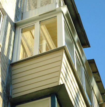 Балкон под ключ, обшивка балкона, утепление балкона, остекле.